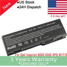 New Battery for Dell Inspiron 6000 9200 9300 9400 E1705 M6300 M90 U4873 D5318