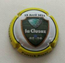 capsule de champagne Breul Patrick - La Clusaz 2021 - N°/500 Ex. Nouveauté - NR