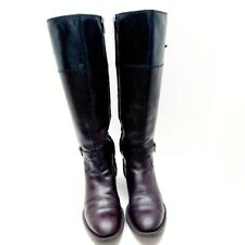Enzo Angiolini Women's Leather High Tops Riding Boots. Size 5.5M