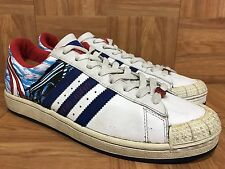 VTG🔥 Adidas Half-Shells San Juan Puerto Rico City Pack Sz 11 Men's Shoes RARE