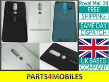 "New Rear Back Glass Battery Cover For Nokia 5.1 Plus / X5 TA-1199 5.86"" UK"