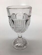 """Antique EAPG McKee GLASS """"LIBERTY"""" aka """"CORNUCOPIA"""" CLEAR WINE 4"""""""