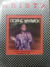 """DIONNE WARWICK """"HOT ! LIVE AND OTHERWISE"""" 8 TRACK (sealed)"""