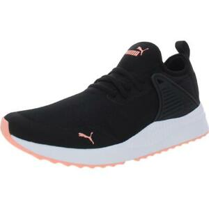 Puma Mens Pacer Next Cage  Black Athletic Shoes Sneakers 8 Medium (D) BHFO 0727