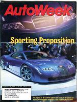 AutoWeek Magazine September 27 1999 Bugatti EB 18/3 Chiron EX 021916jhe