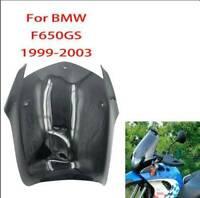 Smoke ABS Air Windscreen Windshield Deflector For BMW F650GS 1999 - 2003  98 99