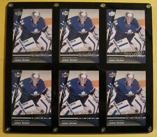 (HCW) (6) 2009-10 UD Young Guns JAMES REIMER RC YG Leafs Lot Upper Deck