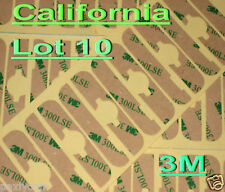 Lot 10 iPod 2nd Gen Adhesive Sticker LCD Digitizer 3M