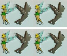New 10 pcs Green Tinker Bell Metal Charms pendants DIY Jewellery Making crafts