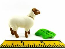 PLAYMOBIL~Miniatures~New~Suffolk~Adult~Sheep~Grass~Animal~Farm~Ranch~Petting Zoo