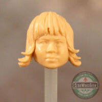 "FH086 Custom Cast female head use w/3.75"" 1:18 Star Wars GI Joe Marvel Universe"