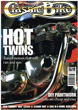 CB August 1998 Triumph Legend T140V BSA X65 Seeley Norton Moto Guzzi 1100