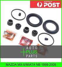 Fits MAZDA MX-5/MIATA NB - Brake Caliper Cylinder Piston Seal Repair Kit