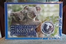 2011 Australian Koala 1oz .999 Silver Bullion Coin