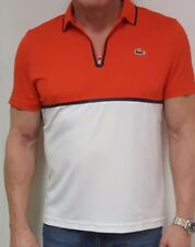 BRAND NEW WITH TAGS MEN'S LACOSTE SPORT ROLAND GARROS TENNIS POLO ULTRA DRY L