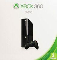 Microsoft Xbox 360 E Model 500GB Console Very Good 6Z