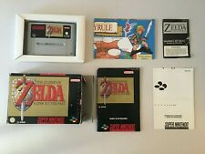 Zelda A Link to the Past - Super Nintendo - SNES-  PAL ESP - Completo