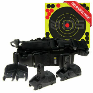 IDS Micro Roni MCK CAA BASIC Kit- Flip-Up Sights + Sling&Swivel + Thumb Rest