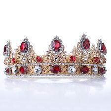 KING CROWN Gold King Crown Cosplay Circlet Handmade Custom Mens Crown Male Crown