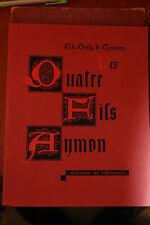 La merveilleuse histoire des quatres fils Aymon ,1944, Gailly de Taurines