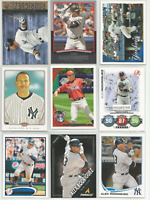 2007-2013 Alex Rodriguez Mixed Lot 9 Different Cards New York Yankees