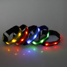 Colorful New LED-Safety-Reflective-Armband-Belt-Strap-Wrist-Ankle-Arm-Wrap-Band