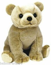 Ty Beanie Baby Almond the Bear Retired DOB April 14th 1999 soft toy