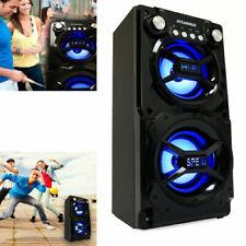 Super Loud Bluetooth Speaker Big Bass Surround Sound Portable Wireless LED Light