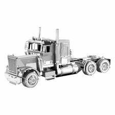Fascinations Metal Earth 3D Laser Cut Model Kit Freightliner LONG NOSE TRUCK