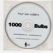 (FU610) Four Day Hombre, 1000 Bulbs - 2005 DJ CD