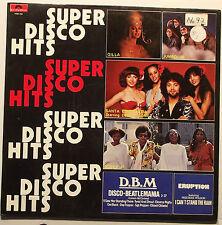 SUPER DISCO HITS / GILLA, BONY M, ERUPTION, SANTA ESMERALDA, SUGAR & CANDY......
