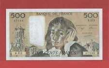 500 Francs pascal du 1-2-1990 Alphabet R.312  Billet N° 779147396