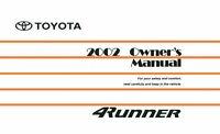 Bishko OEM Maintenance Owner's Manual Bound for Toyota 4Runner 2002