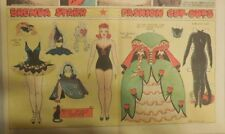 Brenda Starr Sunday with Large Uncut Paper Dolls from 10/26/1941 Full Size Page