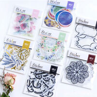 8 Optional New Creative Style Large Sticker Package Decorative Label Stickers