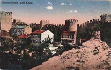 Postcard Constantinople Sept Tours Turkey