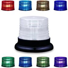 LED Beacon Strobe Light, Appow 8 Colors Adjustable Emergency Rotating with Base