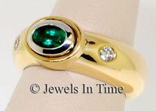 Ladies Ring 18k Two Tone Gold & Diamond