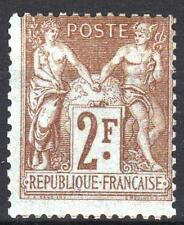 "FRANCE STAMP TIMBRE YVERT  N° 105 "" SAGE 2F BISTRE SUR AZURE "" NEUF xx TB  M980"