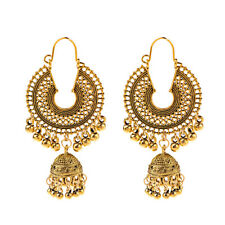 2019 Gold Plated Indian Bollywood Jhumka Earring Traditional Set Ethnic Jewelry