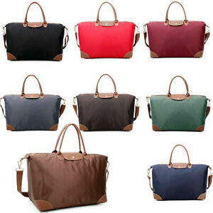 Ladies Foldable Extra Large Tote Shoulder Hobo Handbag Bag Travel Changing Bags