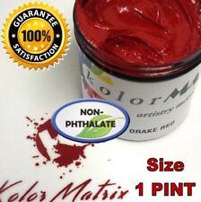 Super Opaque Drake Red Premium Plastisol - Non Phthalate – Screenprint Ink PINT