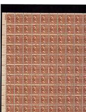 US MINT SHEET SCOTT#805,1-1/2C STAMP MARTHA WASHINGTON  SHEET OF 100 MNH OG