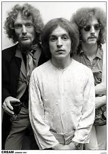 CREAM POSTER LONDON 1967 - ERIC CLAPTON GINGER BAKER JACK BRUCE