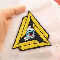 20 Pcs Embroidered Iron on patches Eye of Providence All Seeing Eye AP025tB