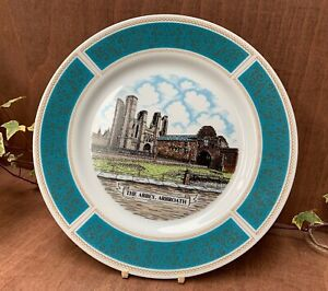 GOODLIFFE NEALE The Abbey Arbroath DECORATIVE CHINA COLLECTORS LARGE PLATE