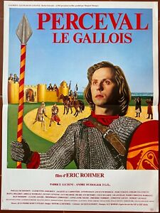 Poster Perceval The Welsh Eric Rohmer Fabrice Luchini 15 11/16x23 5/8in