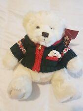 "HARRODS Footdated Christmas Teddy Bear 2006 - Alexander - 13"" Tall"