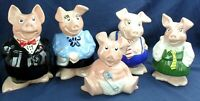 WADE FULL SET NATWEST PIGS, EXCELLENT CONDITION ALL WITH ORIGINAL STOPPERS