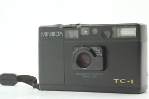 [Near MINT] Minolta 70th TC-1 Limited Black Point & Shoot 35mm Film Camera JAPAN